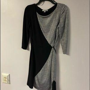 NWOT Woman's dress black and Silver Dressbarn sz 8